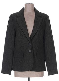 Veste chic / Blazer vert ICHI pour femme