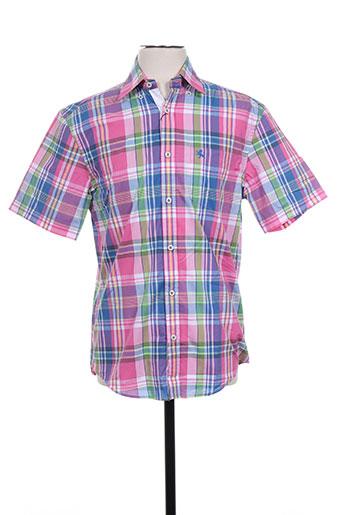 kitaro chemises homme de couleur rose