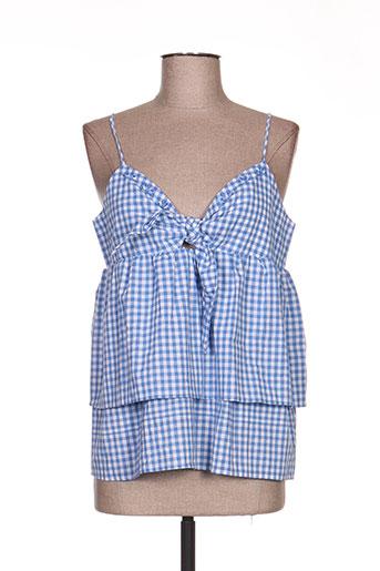 grace EFFI_CHAR_1 mila chemises femme de couleur bleu