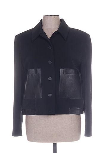 Veste casual noir UN POINT C EST TOUT pour femme