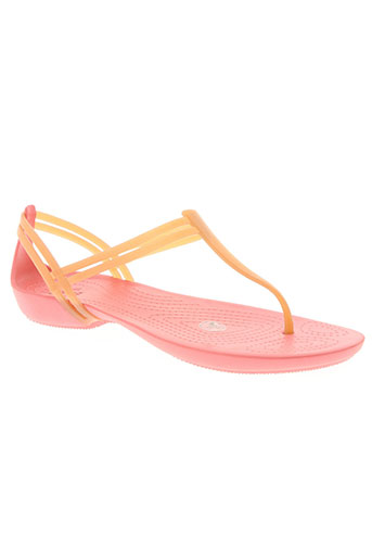 crocs chaussures femme de couleur rose