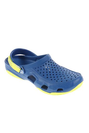 crocs chaussures homme de couleur jaune