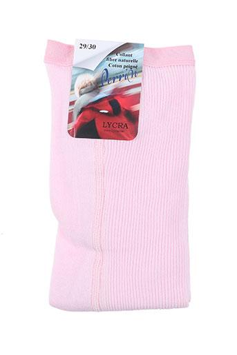 perrin lingerie fille de couleur rose