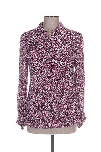 diane laury chemises femme de couleur violet