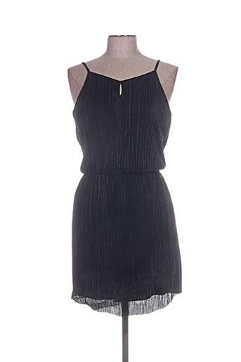 Robe mi-longue noir CACHE CACHE pour femme