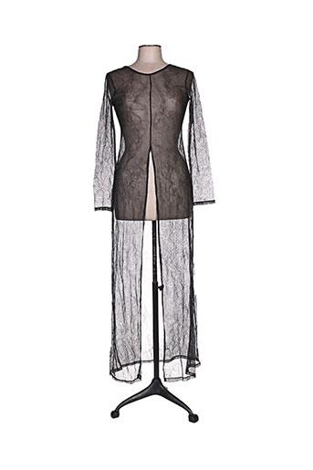 Tunique manches longues noir BLA-BLA pour femme