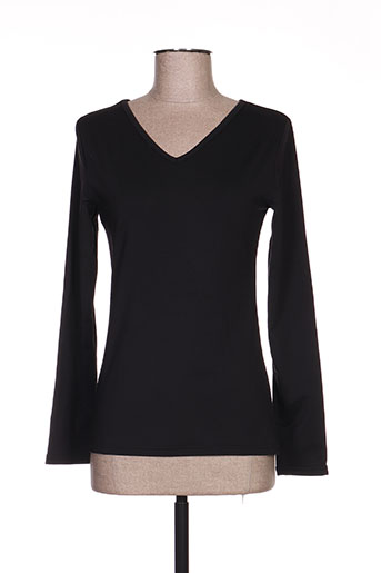 angelie t-shirts femme de couleur noir