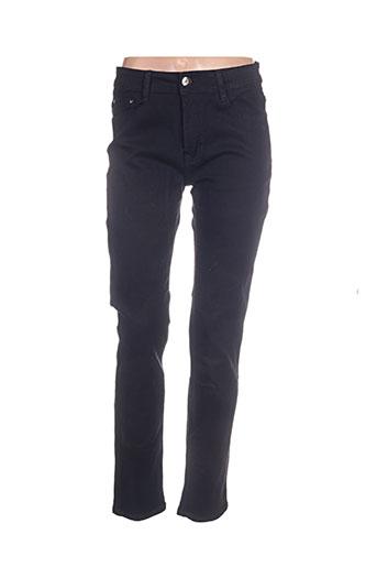 miss fanny jeans femme de couleur noir