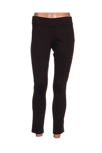 Legging marron BLA-BLA pour femme