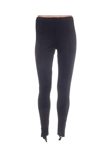 l'atelier du marais pantalons femme de couleur noir