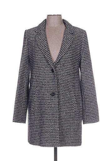 trench EFFI_CHAR_1 coat manteaux femme de couleur noir