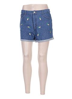 Produit-Shorts / Bermudas-Femme-DAPHNEA