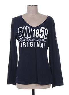 Produit-T-shirts-Femme-BLACK WELLIS