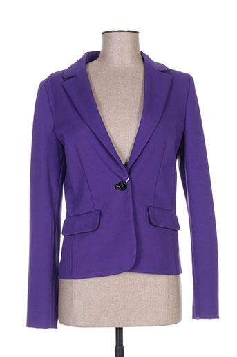 marella vestes femme de couleur violet