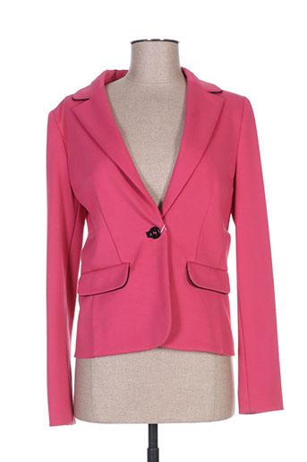 Veste casual rose MARELLA pour femme