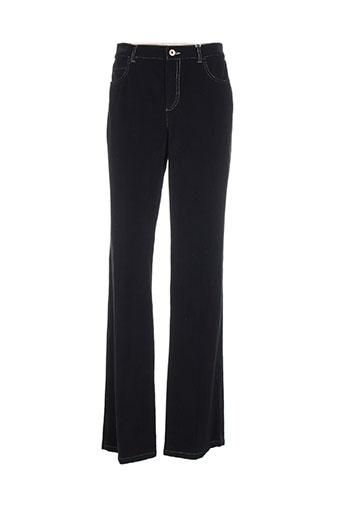 marella pantalons femme de couleur noir