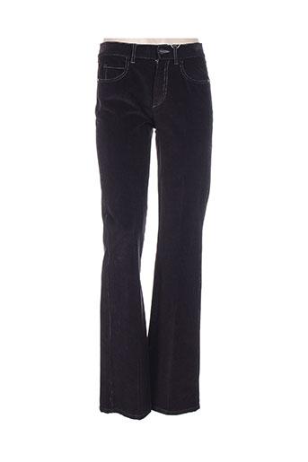 marella pantalons femme de couleur violet