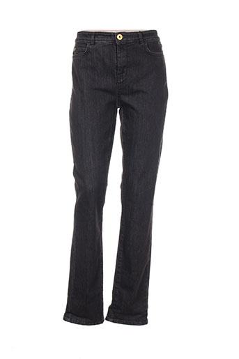 maxmara jeans femme de couleur marron
