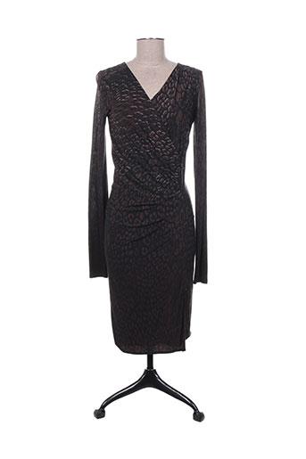 maxmara robes femme de couleur marron