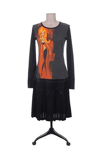 custo robes femme de couleur noir