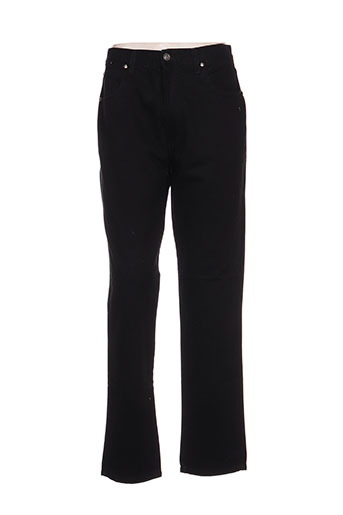 versace pantalons femme de couleur noir