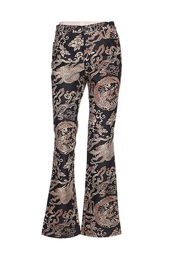 kenzo pantalons femme de couleur noir