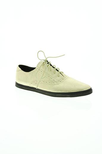 kaporal chaussures femme de couleur beige
