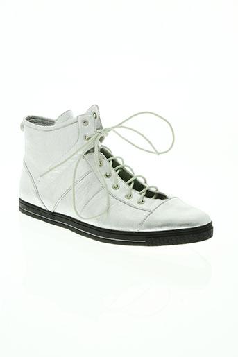 kaporal chaussures femme de couleur gris