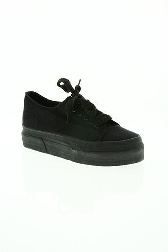 creeks chaussures femme de couleur noir