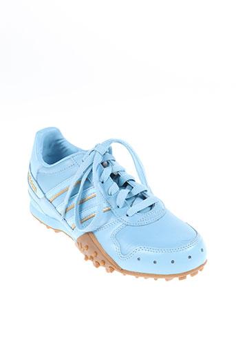 adidas chaussures femme de couleur bleu