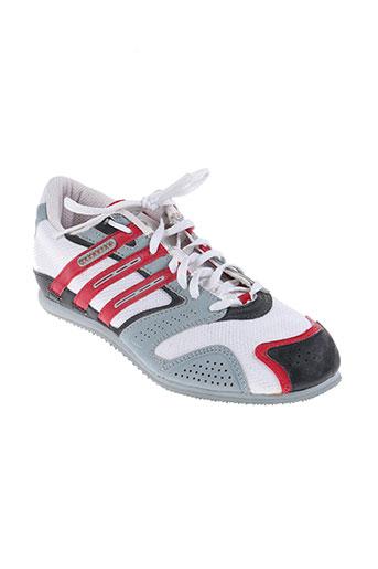 adidas chaussures unisexe de couleur blanc