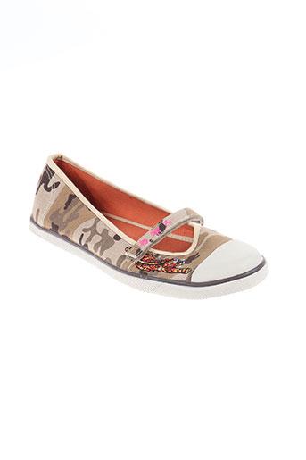 rocket dog chaussures femme de couleur beige
