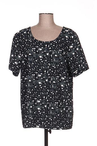 T-shirt manches courtes vert ICHI pour femme