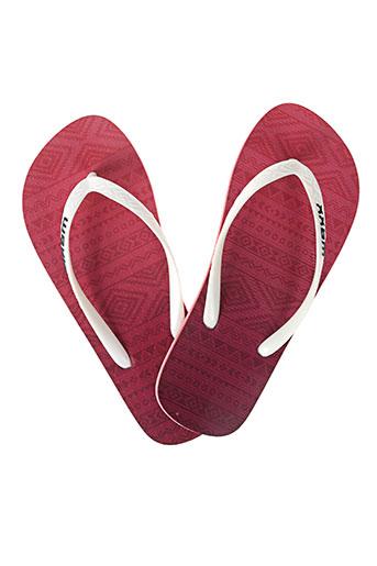 waxx chaussures femme de couleur rouge