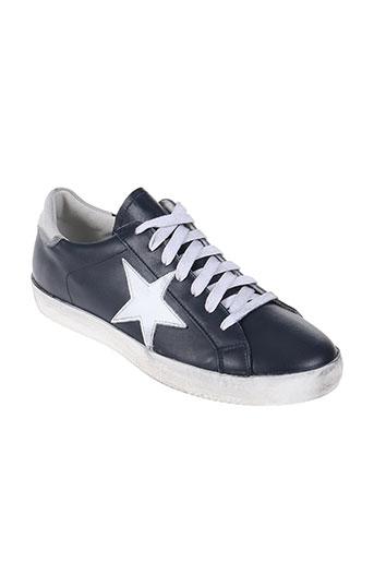 meline chaussures homme de couleur bleu