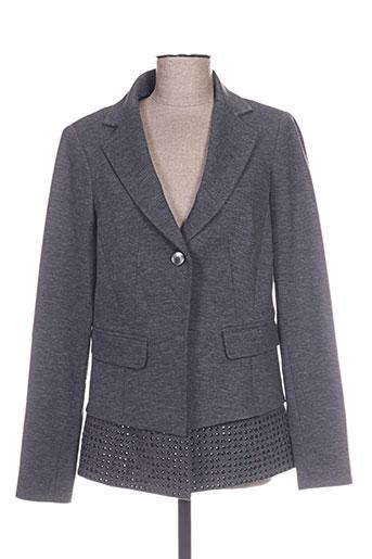 Veste chic / Blazer gris LAUREN VIDAL pour femme