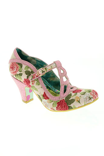 irregular choice chaussures femme de couleur rose