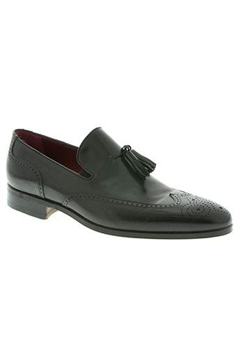 carvil chaussures homme de couleur noir