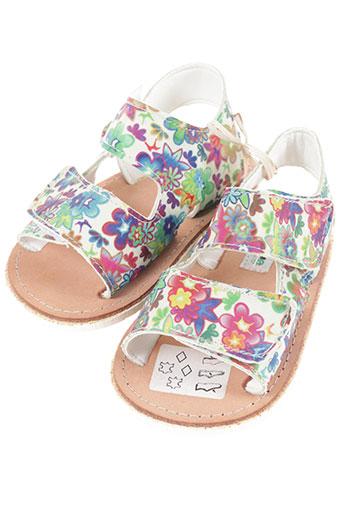 aladino chaussures fille de couleur bleu