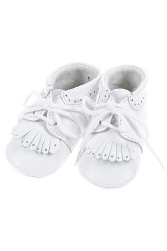 chauss'coeur chaussures fille de couleur blanc