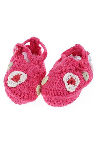 absorba chaussures fille de couleur rose
