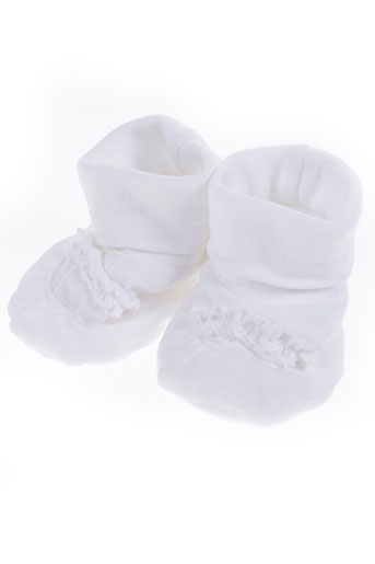 absorba chaussures enfant de couleur blanc