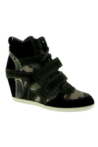 ash chaussures femme de couleur vert
