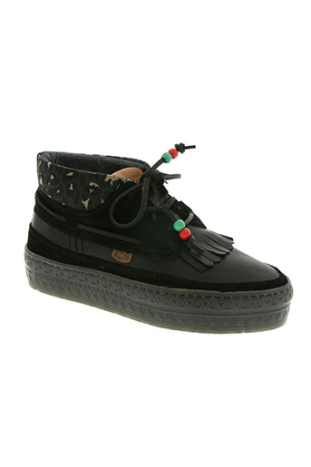 dolfie chaussures femme de couleur noir