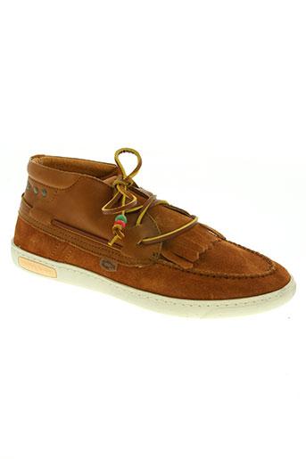 dolfie chaussures homme de couleur marron