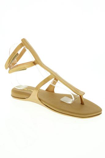 melissa chaussures femme de couleur beige