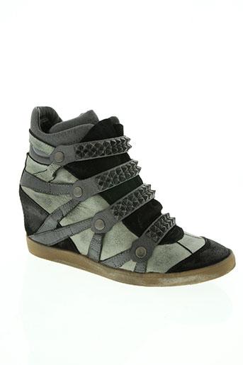 crime chaussures femme de couleur vert