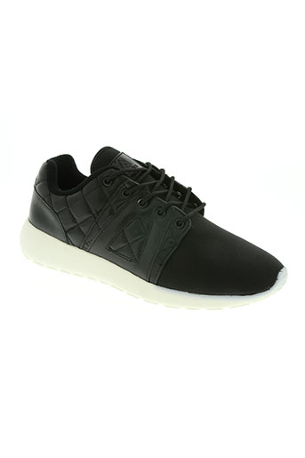asfvlt chaussures garçon de couleur noir