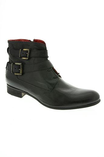 les fleches chaussures femme de couleur noir