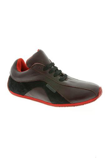 torn chaussures femme de couleur rouge